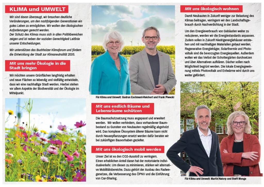 SPD-Flyer Klima