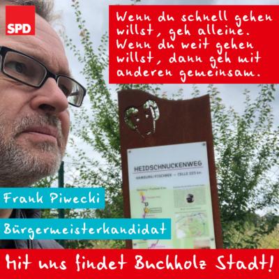 Frank Piwecki Heidschnuckenweg