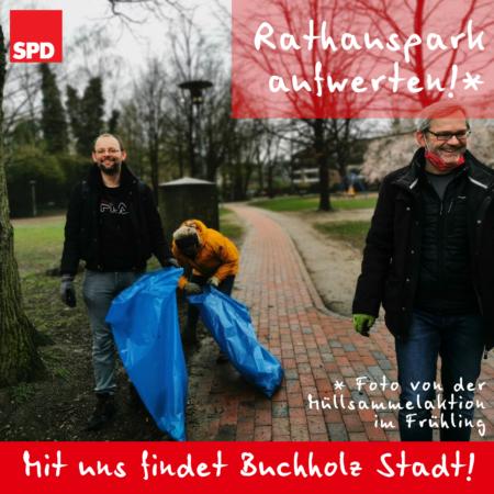 Rathauspark aufwerten!