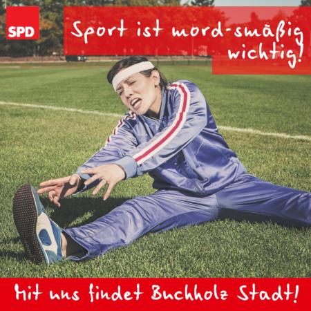 Sport ist mord.....smäßig wichtig